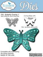 Нож  от   Elizabeth  Craft  Designs  -  Butterfly  Overlay,  3  элемента.