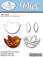 Нож  от   Elizabeth  Craft  Designs  -  Birds,  5  элементов.