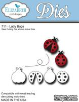 Нож  от   Elizabeth  Craft  Designs  -  Ladybugs,  7  элементов.