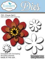 Нож  от   Elizabeth  Craft  Designs  -  NEW  FLOWER  SET,  5  элементов.