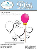 Нож  от   Elizabeth  Craft  Designs  -  New  Balloons,  8  элементов.