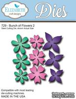 Нож  от   Elizabeth  Craft  Designs  -  New  Bunch of  Flowers,  9  элементов.