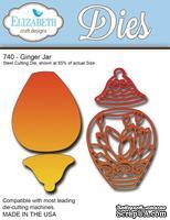 Нож  от   Elizabeth  Craft  Designs  - New  Ginger  Jar  ,  4  элемента.