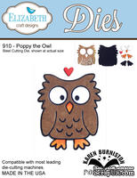 Ножи от Elizabeth Craft Designs - Poppy the Owl