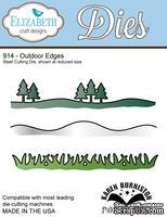Ножи - бордюры от Elizabeth Craft Designs - Outdoor Edges: трава, сугробы, ландшафт, длина 14,4 см