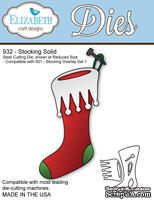 Ножи от Elizabeth Craft Designs - Stocking 1
