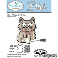 Ножи от Elizabeth Craft Designs - Whiskers the Cat