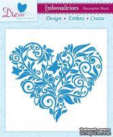 Папка для тиснения и эмбоссинга от Crafter's Companion - Decorative Heart