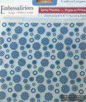 Папка для тиснения от Crafter's Companion -  Embossalicious Embossing Folder - Spring Medow, 15x15 см