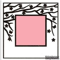 Папка для тиснения Nellie Snellen - Embossing Folder - Spring in the air (Square)