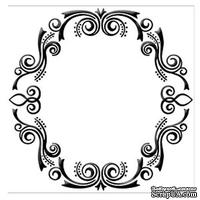 Папка для тиснения Nellie Snellen - Embossing Folder - Frame (Oval)