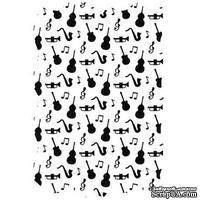 Папка для тиснения Nellie Snellen - Vintasia Music - ScrapUA.com