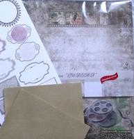 Набор бумаги - Синема 8 л. 30х30, 2 л. 15х30, 2 конверта