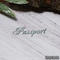 "Термонадпись ""Passport"" №5, серебро"