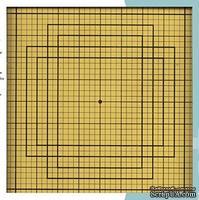 Стеклянный коврик для резки EK Tools GLASS MAT, 33х33 см