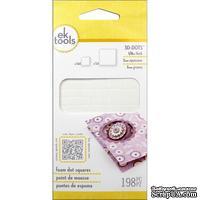Объемные клеевые квадратики - EK 3D Dots Adhesive Foam Square, 198 штук