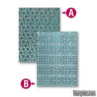 Папки для тиснения от Spellbinders - Patchwork, 2 шт