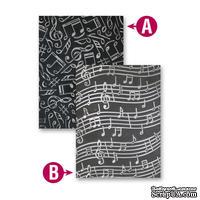Папки для тиснения от Spellbinders - Music, 2 шт