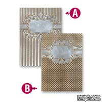 Папка для тиснения от Spellbinders - Framed Petite Labels