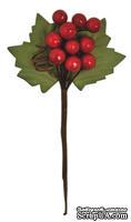 Веточка с ягодами, 14х8,5 см