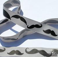 Лента Eyelet Outlet - Mustache Ribbon, ширина 20 мм, длина 90 см