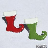Набор брадсов Eyelet Outlet - Stocking Brads, 12 штук