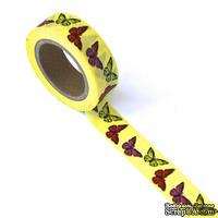 Бумажный скотч Eyelet Outlet - Butterfly Washi Tape, 10 м х 15 мм