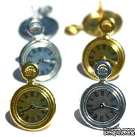Набор брадсов Eyelet Outlet - Pocket Watch Brads, 12 штук