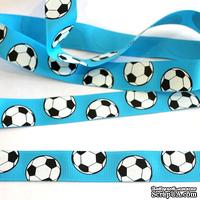 Лента Eyelet Outlet - Soccer Ribbon, ширина 18 мм, длина 90 см