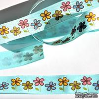 Лента Eyelet Outlet - Fall Flower Ribbon, ширина 18 мм, длина 90 см