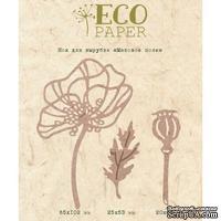 Нож для вырубки Маковое поле от EcoPaper - ScrapUA.com