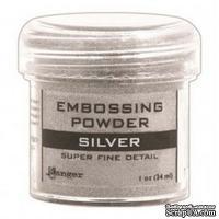 Пудра для эмбоcсинга Ranger - Super Fine Silver - ScrapUA.com