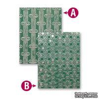Папки для тиснения от Spellbinders - Retro Mod, 2 шт.