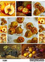 "Декупажная карта ""Осень, Айва"", размер: 29,5х45 см"