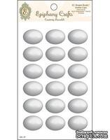 Прозрачные эпоксидные наклейки Epiphany Crafts - Bubble Caps Oval 25