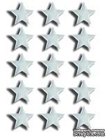 Прозрачные эпоксидные наклейки Epiphany Crafts - Bubble Caps Star 25