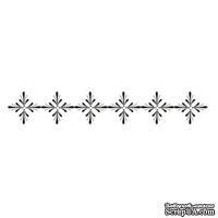 Акриловый штамп Stamp Border F007 Бордюр, размер 9,7 * 1,6 см