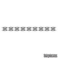 Акриловый штамп Stamp Border F010 Бордюр, размер 9,4 * 0,8 см
