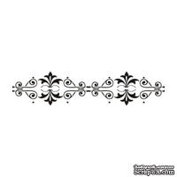 Акриловый штамп Stamp Border F013 Бордюр, размер 8,7 * 1,9 см