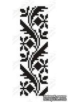 Акриловый штамп F032b Орнамент, размер 2,5 * 8,1 см