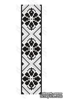 Акриловый штамп F033b Орнамент, размер 2,3 * 10,1 см