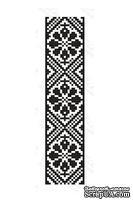 Акриловый штамп F033c Орнамент, размер 2,3 * 10,1 см