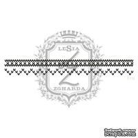 Акриловый штамп Lesia Zgharda F110 Вязаный узор, размер 10.9х1.3 см