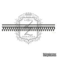 Акриловый штамп Lesia Zgharda F114 Вязаный узор, размер 10.1х1.7 см