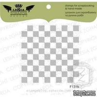Акриловый штамп Lesia Zgharda F131b Шахматка маленькая, размер 5х5 см