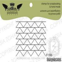 Акриловый штамп Lesia Zgharda F136b Треугольники - елочки, размер 4х3 см