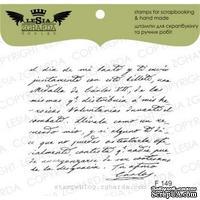 Акриловый штамп Lesia Zgharda F149 Рукописний текст, размер 6,2х4,9 см