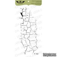 Акриловый штамп Lesia Zgharda F153 Кракелюр средний, размер 3,5х8,5 см