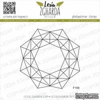 Акриловый штамп Lesia Zgharda F188 Геометрія