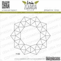Акриловый штамп Lesia Zgharda F189 Геометрія